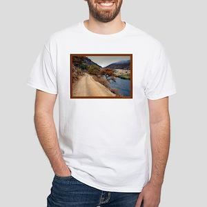 Along The Klamath White T-Shirt