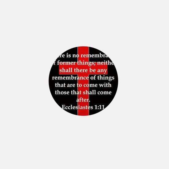 Ecclesiastes 1-11 Mini Button