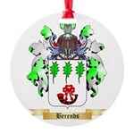 Berends Round Ornament