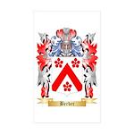 Berber Sticker (Rectangle 50 pk)