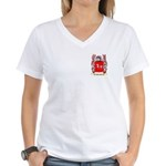 Berault Women's V-Neck T-Shirt