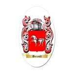 Berault Oval Car Magnet