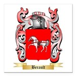 Berault Square Car Magnet 3