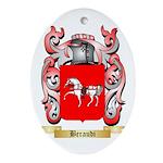 Beraudi Ornament (Oval)