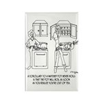 Cooking Cartoon 0676 Rectangle Magnet (10 pack)