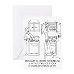 Cooking Cartoon 0676 Greeting Card