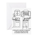 Cooking Cartoon 0676 Greeting Cards (Pk of 10)