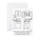 Cooking Cartoon 0676 Greeting Cards (Pk of 20)