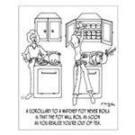 Cooking Cartoon 0676 Small Poster