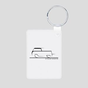Speedy Crew Cab Aluminum Photo Keychain
