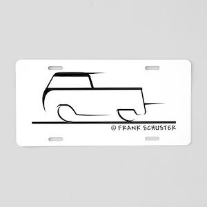 Speedy Crew Cab Aluminum License Plate