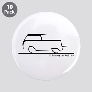 "Speedy Crew Cab 3.5"" Button (10 pack)"