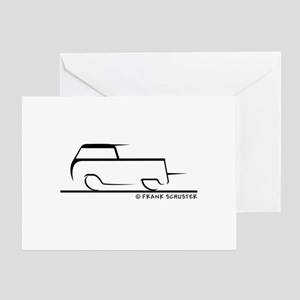 Speedy Crew Cab Greeting Card