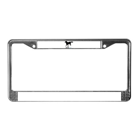 Flat Coated Retriever License Plate Frame