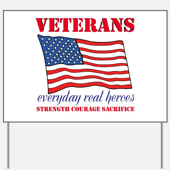Veterans Yard Sign