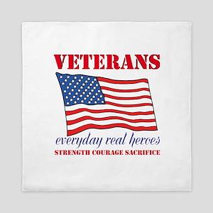 Veterans Queen Duvet
