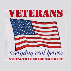 Veterans Throw Blanket