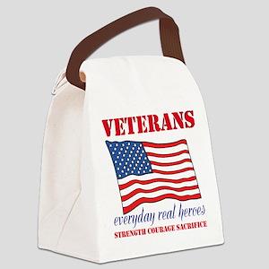 Veterans Canvas Lunch Bag