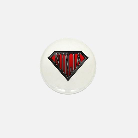 Super Ninja(Black) Mini Button