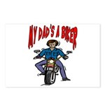My Dad Is A Biker Postcards (Package of 8)