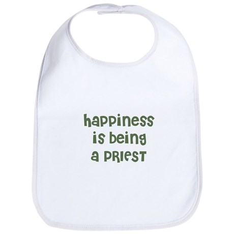 Happiness is being a PRIEST Bib