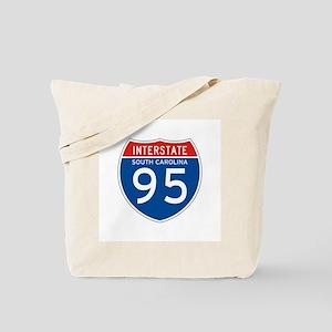 Interstate 95 - SC Tote Bag