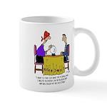 Math Cartoon 6487 11 oz Ceramic Mug