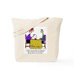Math Cartoon 6487 Tote Bag