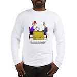 Math Cartoon 6487 Long Sleeve T-Shirt