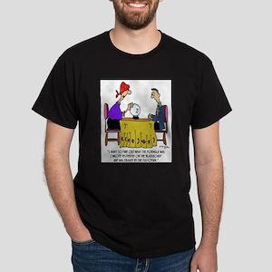 Math Cartoon 6487 Dark T-Shirt