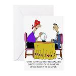 Math Cartoon 6487 Greeting Cards (Pk of 20)