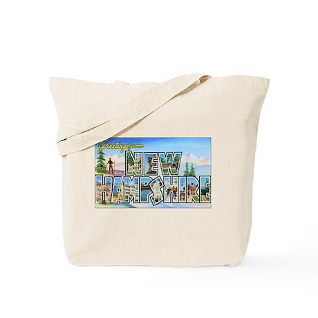 New Hampshire Greetings Tote Bag