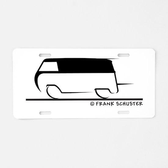 Speedy Transporter Aluminum License Plate