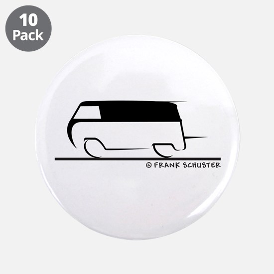 "Speedy Transporter 3.5"" Button (10 pack)"