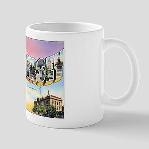 New Jersey Greetings Mug