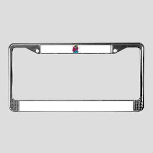 COMPUTER VIRUS License Plate Frame