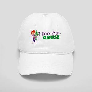 1 (800) TED-ABUSE (Teddy Bear Abuse Hotline) Cap