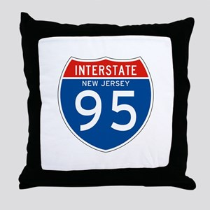 Interstate 99 - PA Throw Pillow