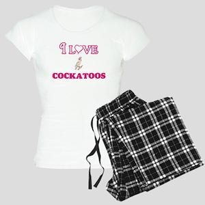 I Love Cockatoos Pajamas