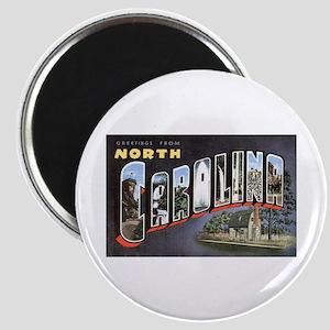 North Carolina Greetings Magnet