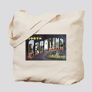 North Carolina Greetings Tote Bag