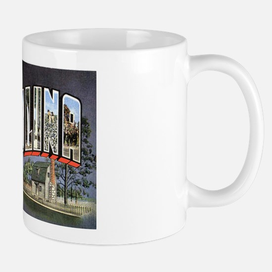 North Carolina Greetings Mug