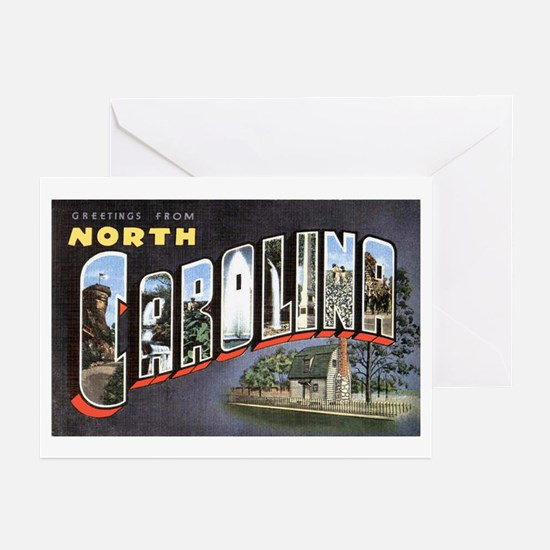 North Carolina Greetings Greeting Cards (Package o