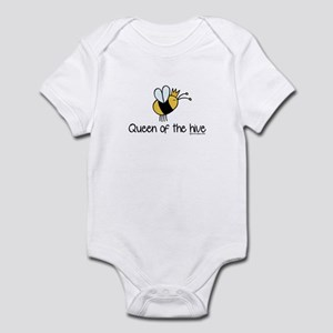 Queen of the hive Infant Bodysuit