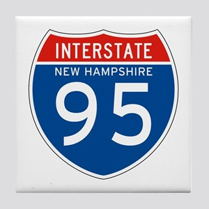 Interstate 95 - NH Tile Coaster
