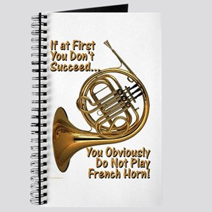 French Horn Perfection Journal
