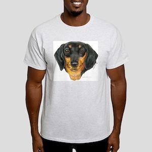 Ash Grey T-Shirt - Dachshund