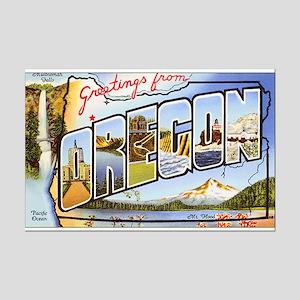 Oregon Greetings Mini Poster Print