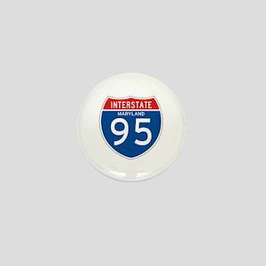 Interstate 95 - MD Mini Button