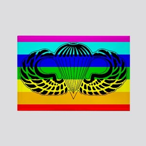 gay airborne Rectangle Magnet